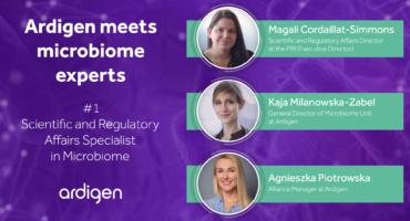 Ardigen meets microbiome experts #1 - Scientific and regulatory Affairs Specialist in Microbiome