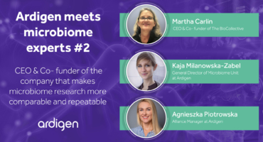 Ardigen meets microbiome experts #2 - discussion with Martha Carlin - CEO of the BioCollective